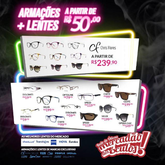 83d5f64c18585 O Mercadão dos Óculos em São Roque iniciou a Black Friday e reduziu os  preços em até 70% neste mês.