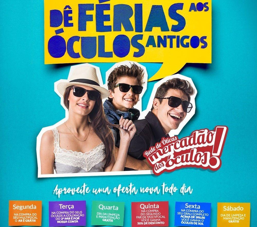 5f555a911 O Mercadão dos Óculos em São Roque está oferecendo uma grande promoção até  o fim de dezembro.